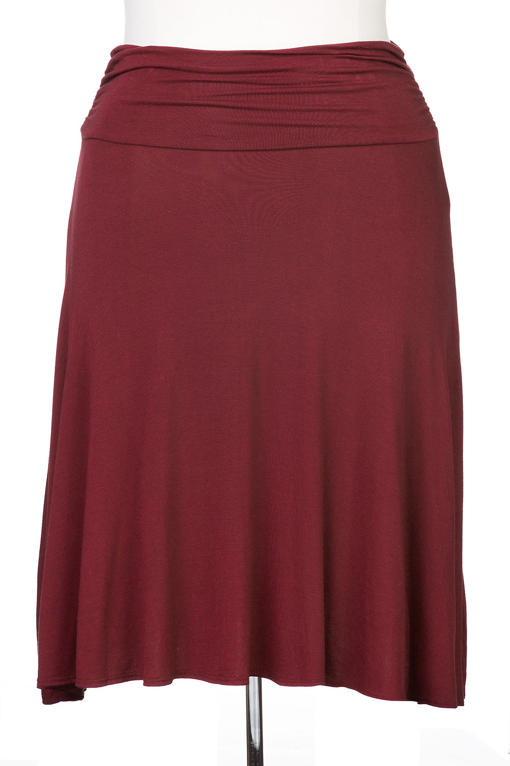 Type 2 Burgundy Drape Skirt