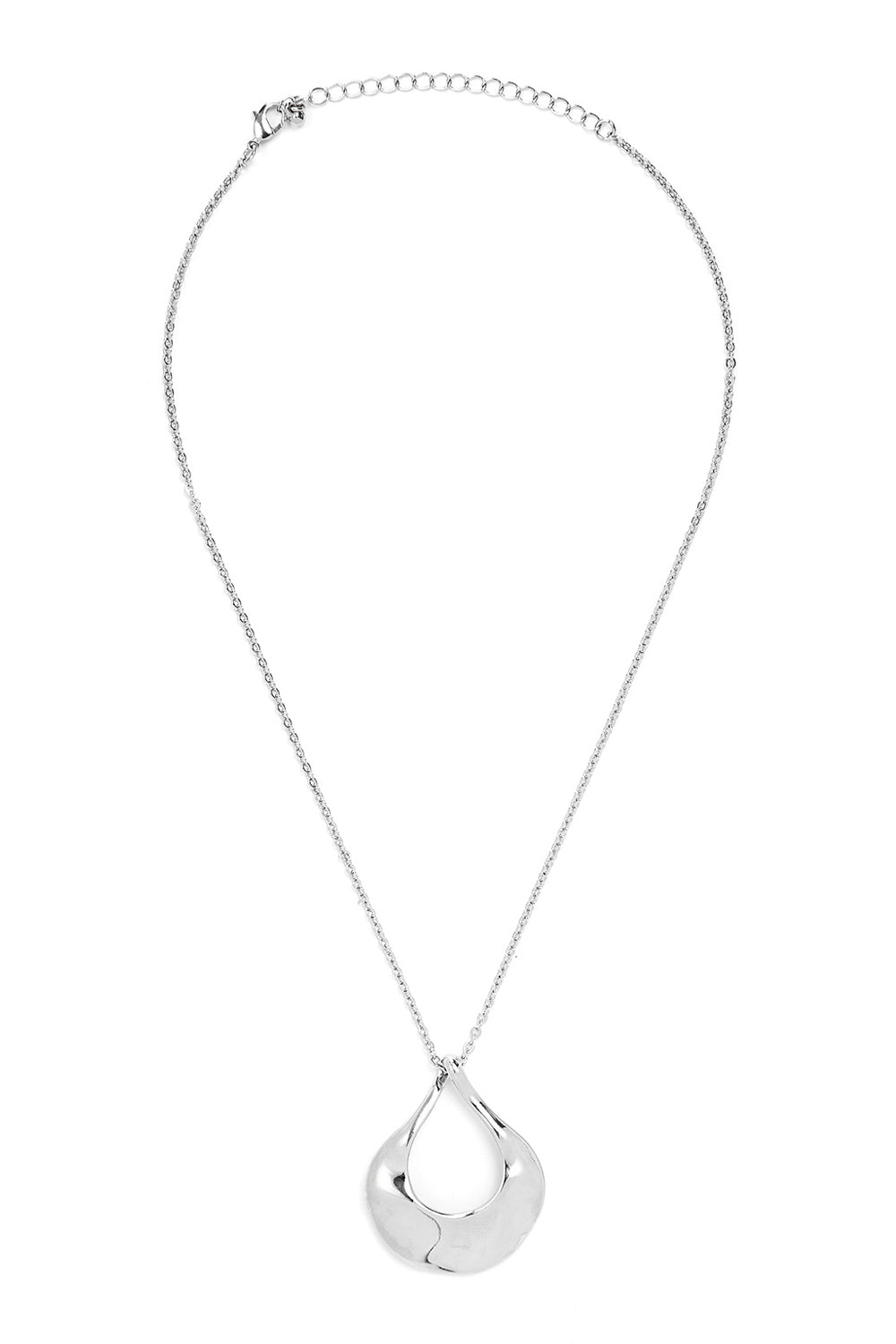 Type 4 Silver Rain Necklace