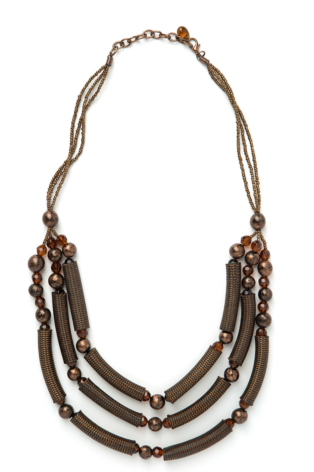 Type 3 Copper Palm Necklace
