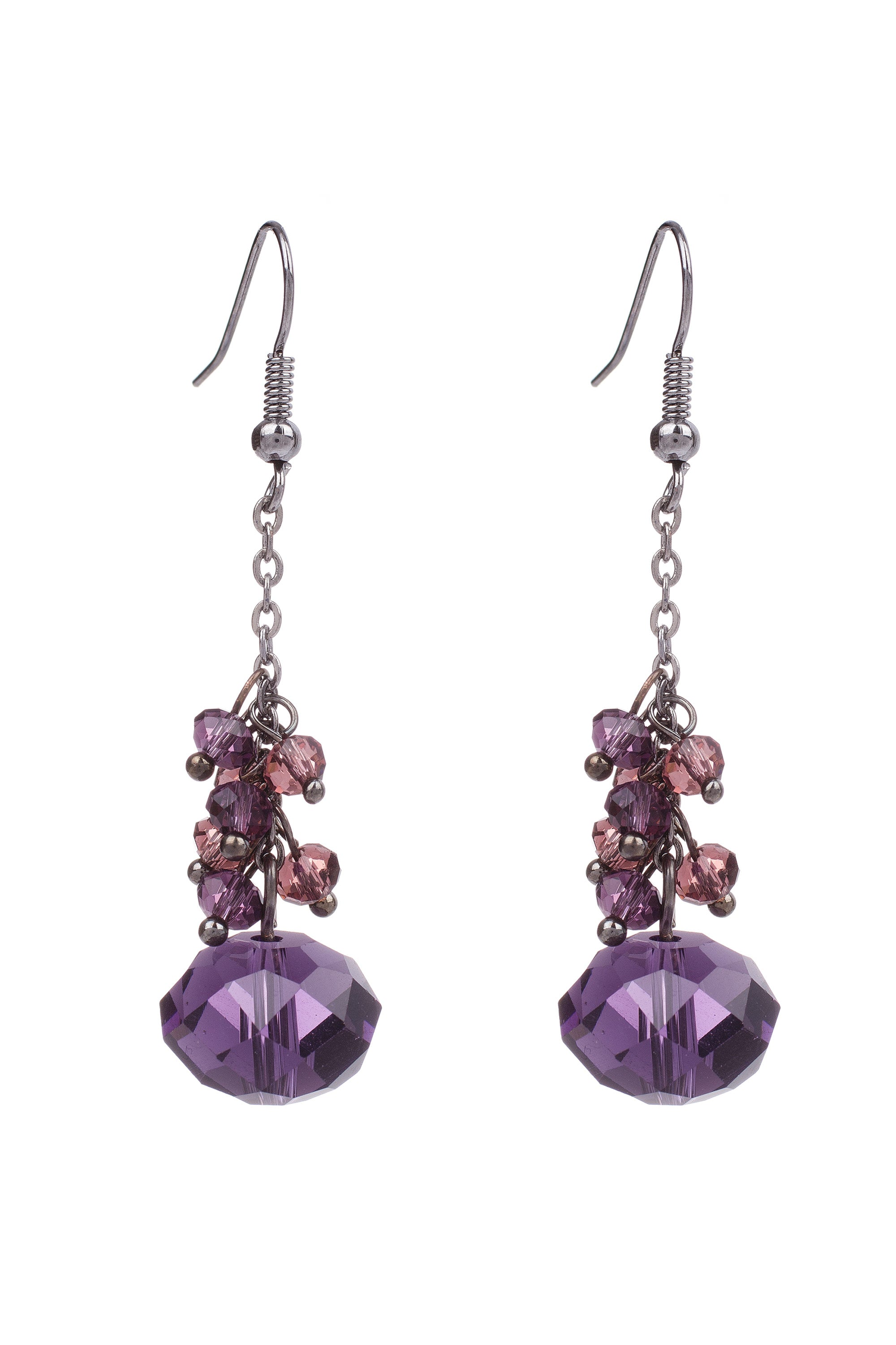 Type 2 Amethyst Earrings