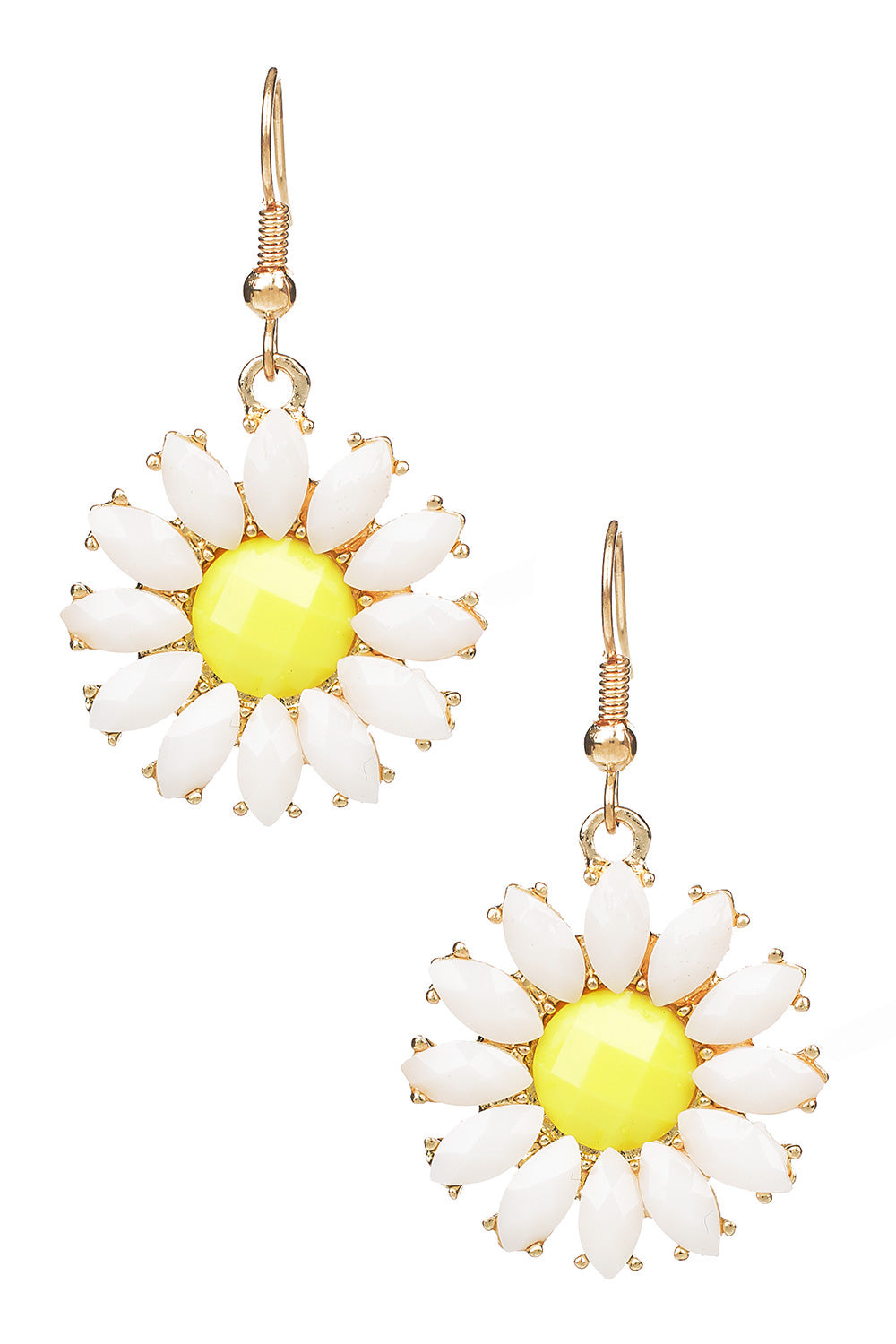 Type 1 Daisy Drop Earrings