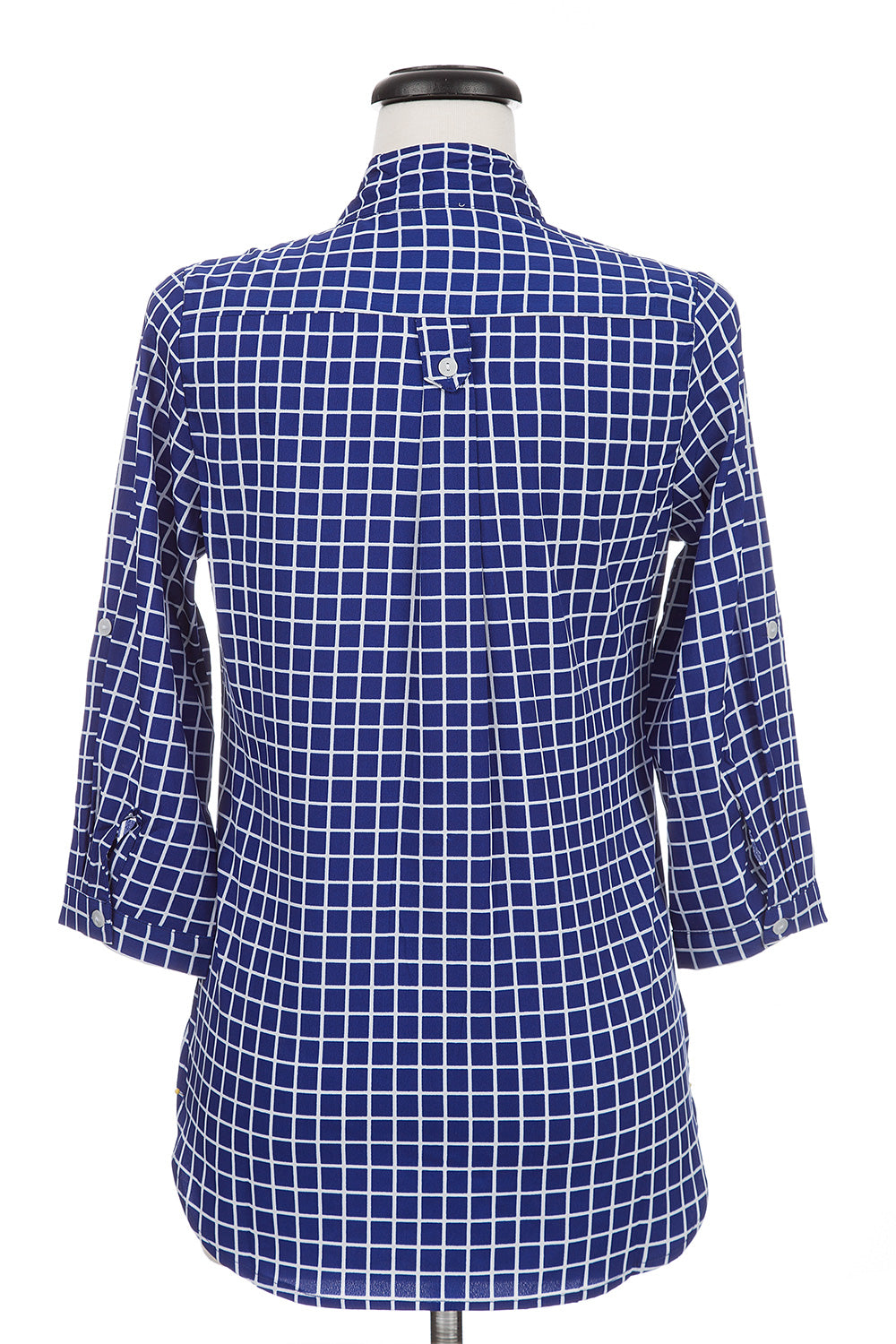 Type 4 Gridlock Top in Blue