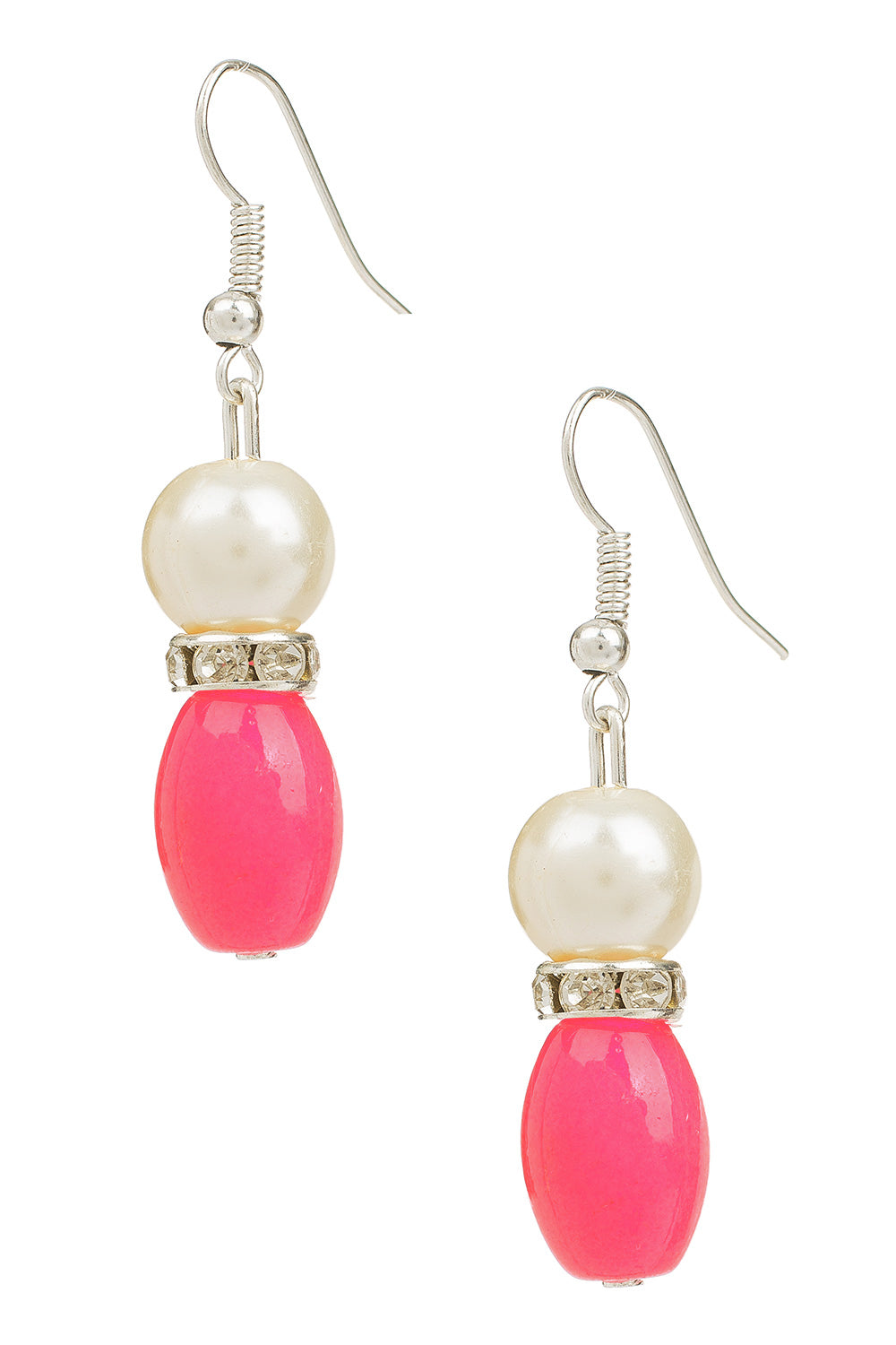 Type 4 Contempo Earrings in Pink