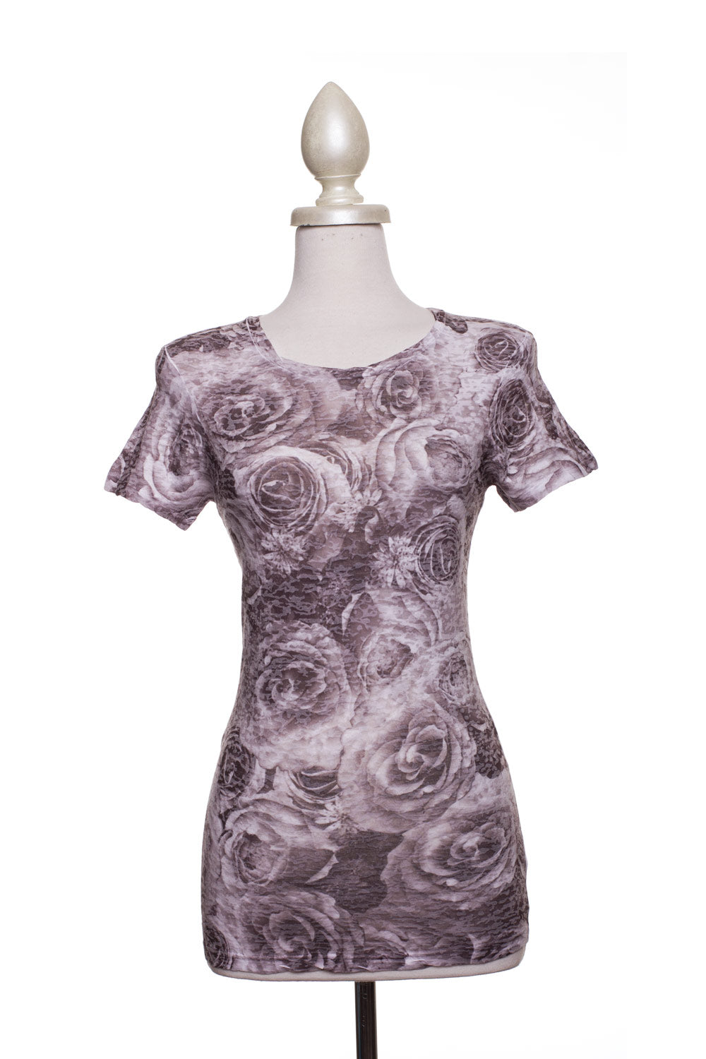 Type 2 Rose Bouquet Soft-T in Grey