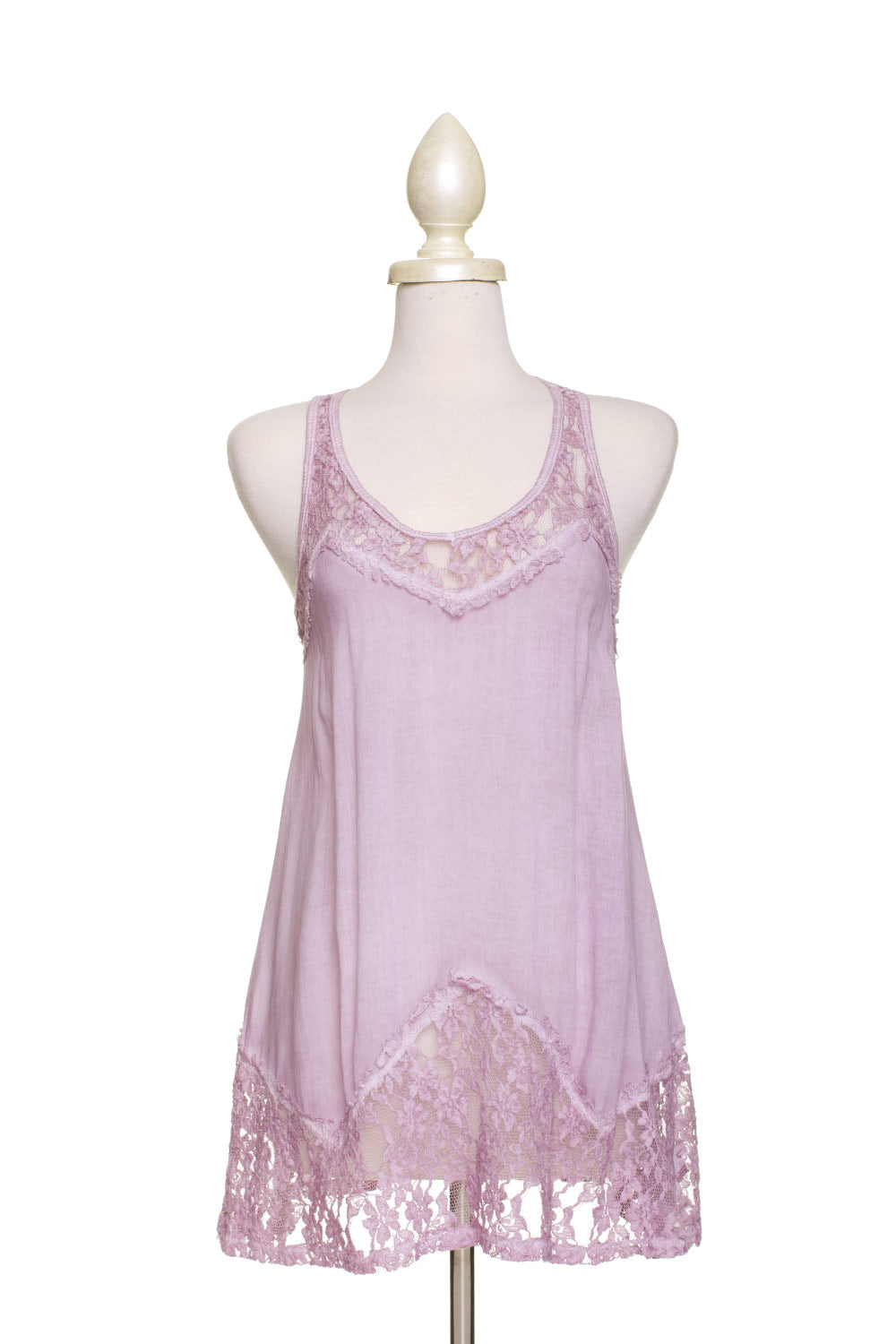 Type 2 Lacy Lilac Top