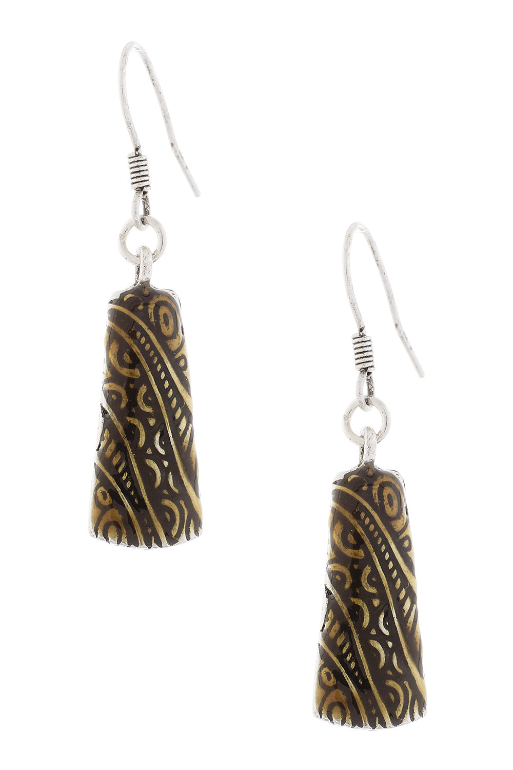 Type 3 Mayan Metal Earrings