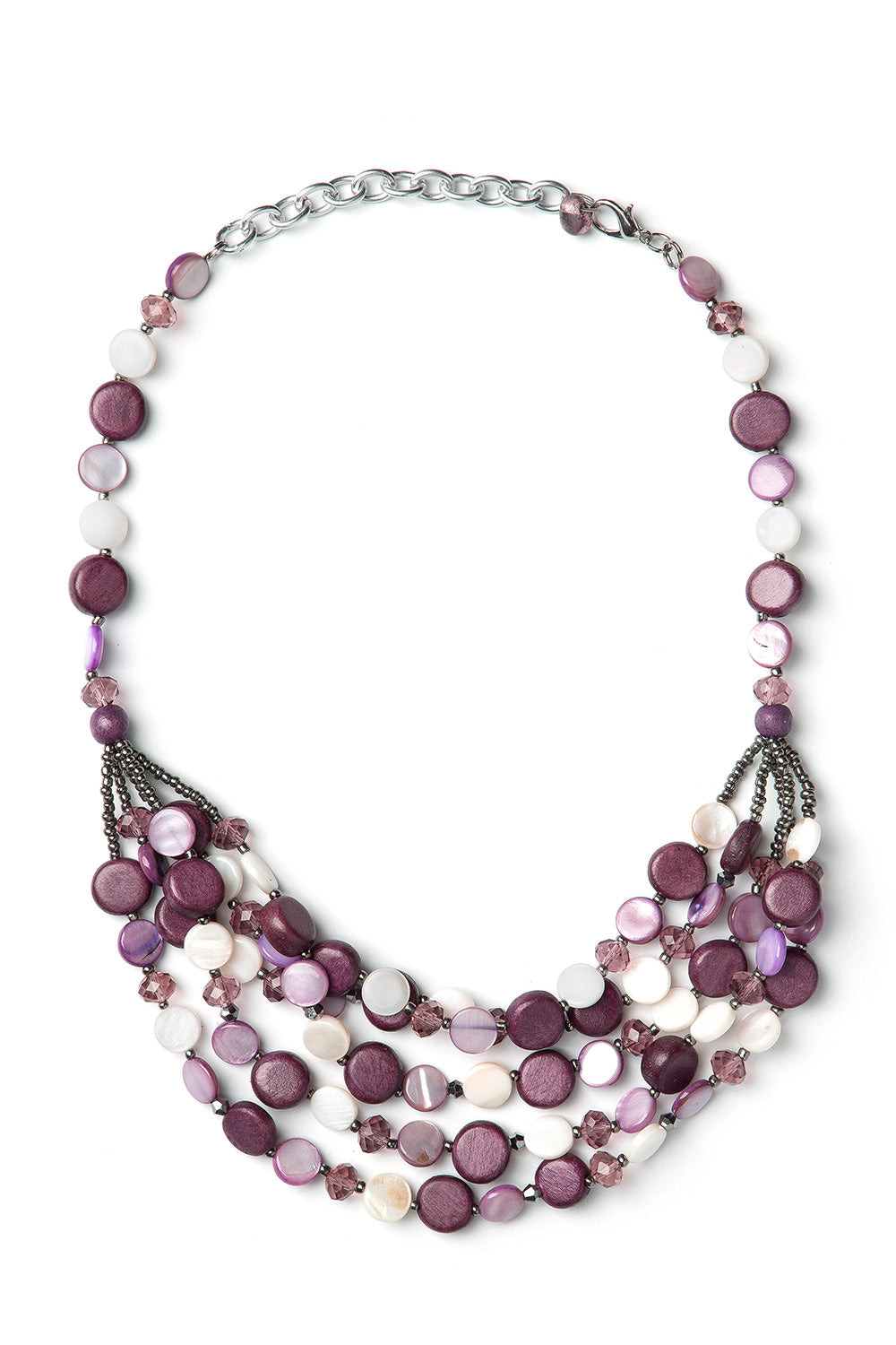 Type 2 Purple Pattern Necklace