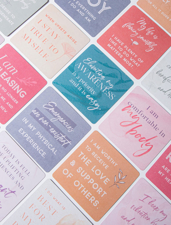 Healing Affirmation Cards