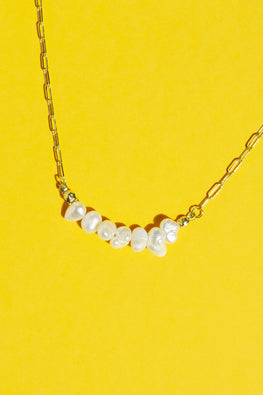 Type 1 A Girl Needs Pearls Necklace