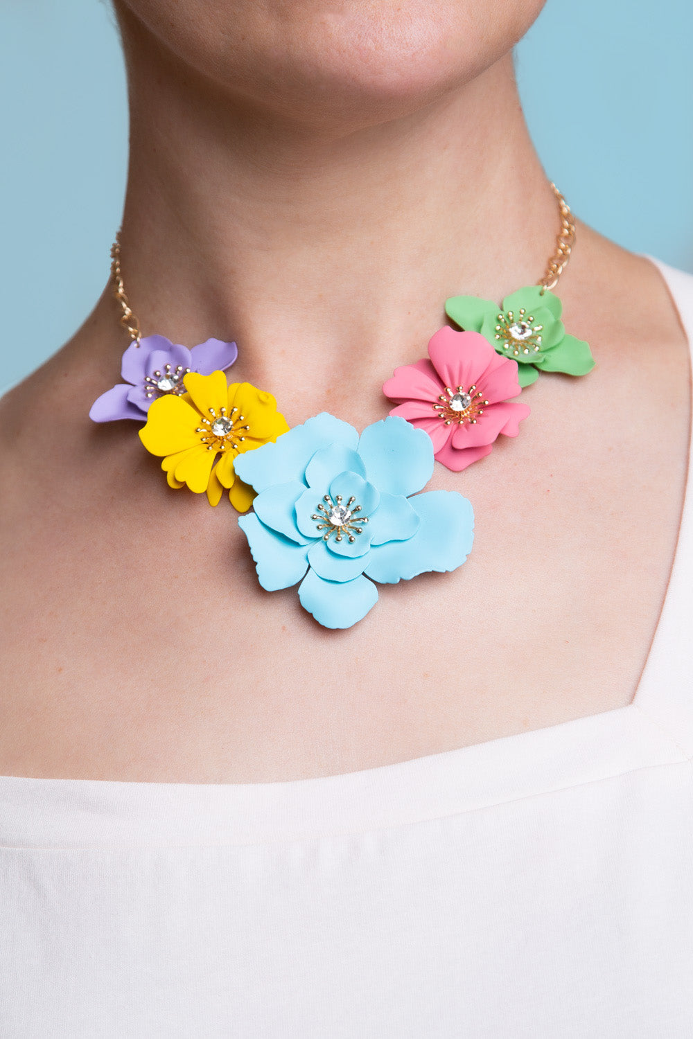 Type 1 Bright Bouquet Necklace