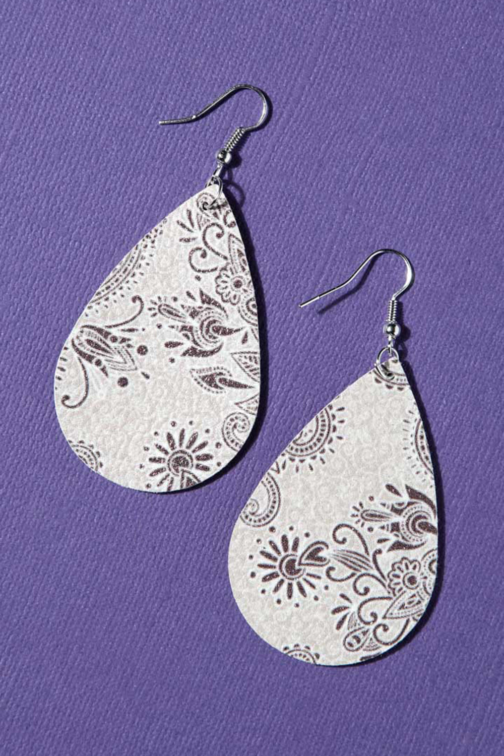 Type 2 Pleasant in Purple Earrings