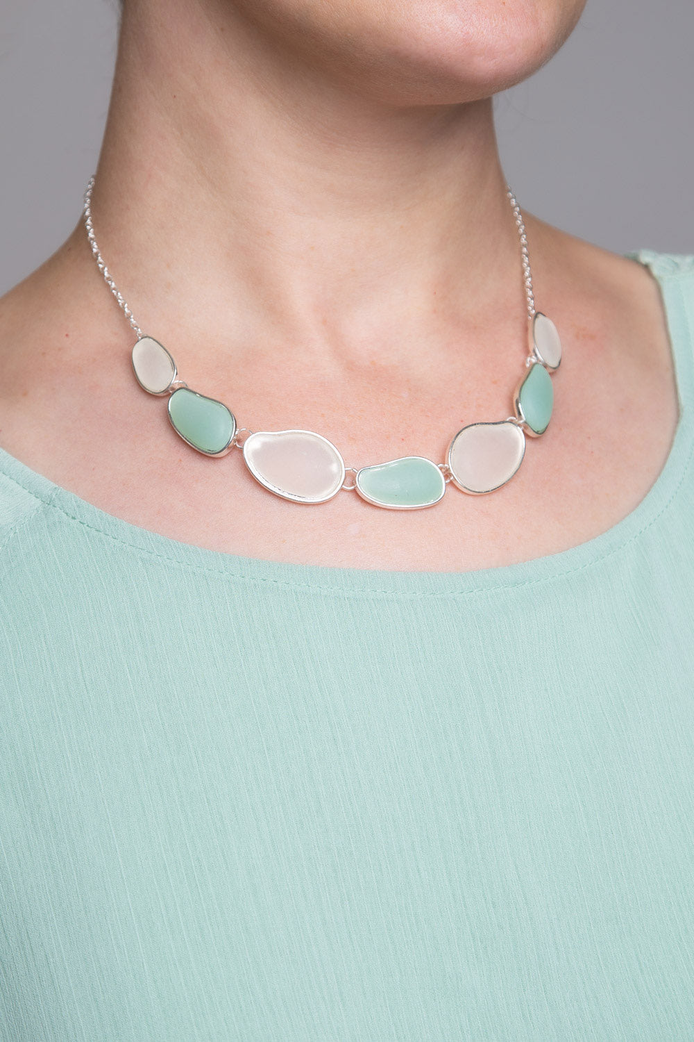 Type 2 Mint For Me Necklace/ Earrings Set