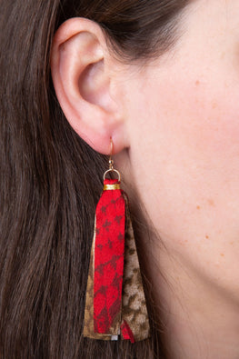 Type 3 Rep-Tassel Earrings