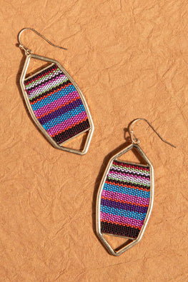 Type 3 Lavish Loom Earrings