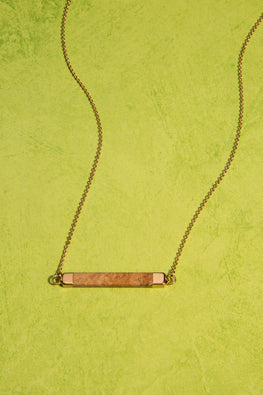 Type 3 Toffee Bar Necklace