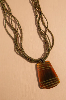 Type 3 Lines in the Sand Necklace