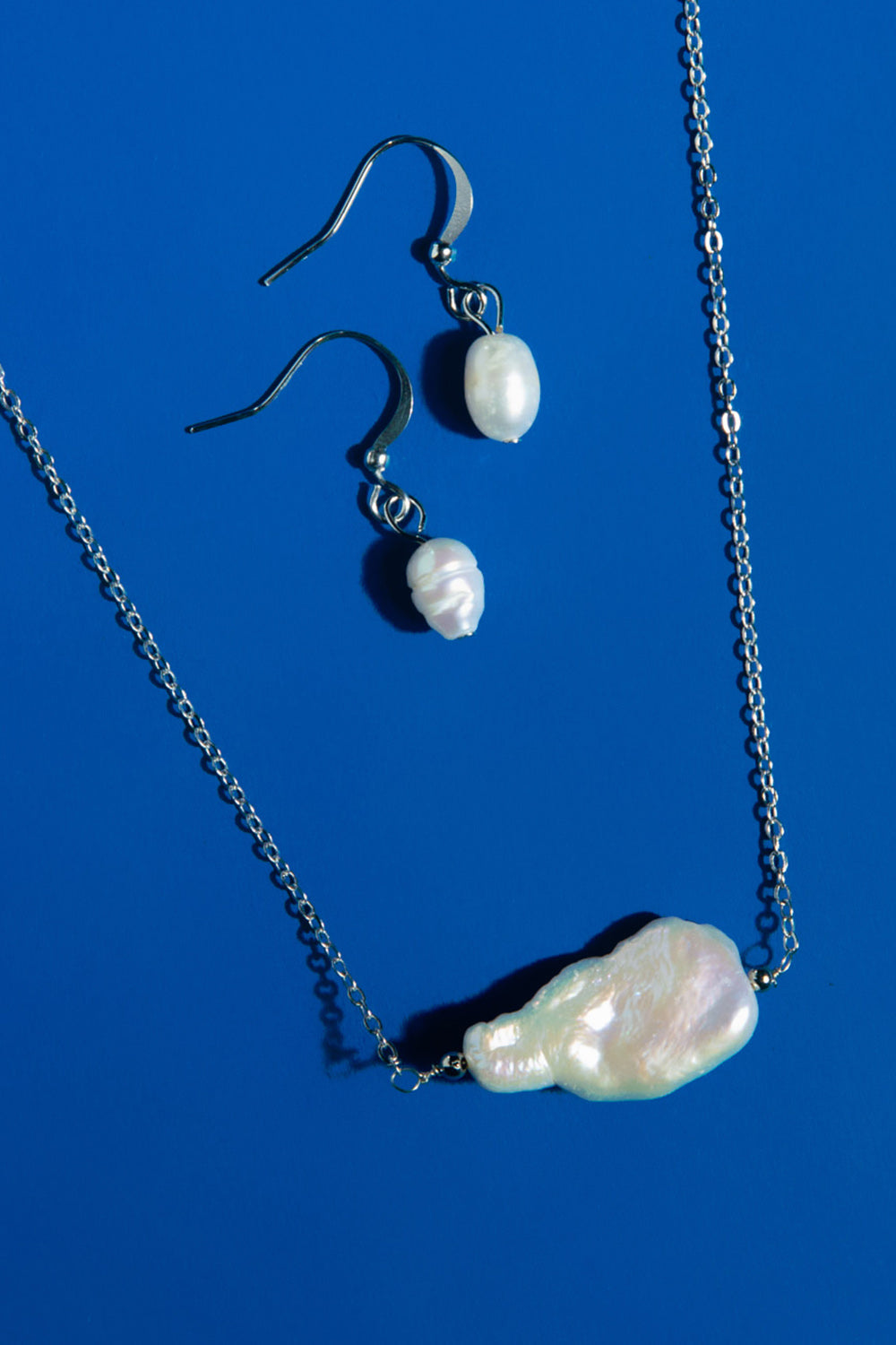 Type 4 Pearl and Prose Necklace/Earring Set