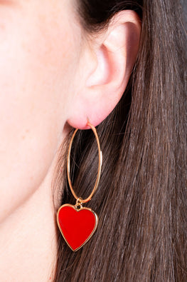 Type 1 Hearts A Hangin' Earrings
