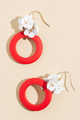 Type 1 Cherry & Blossom Earrings
