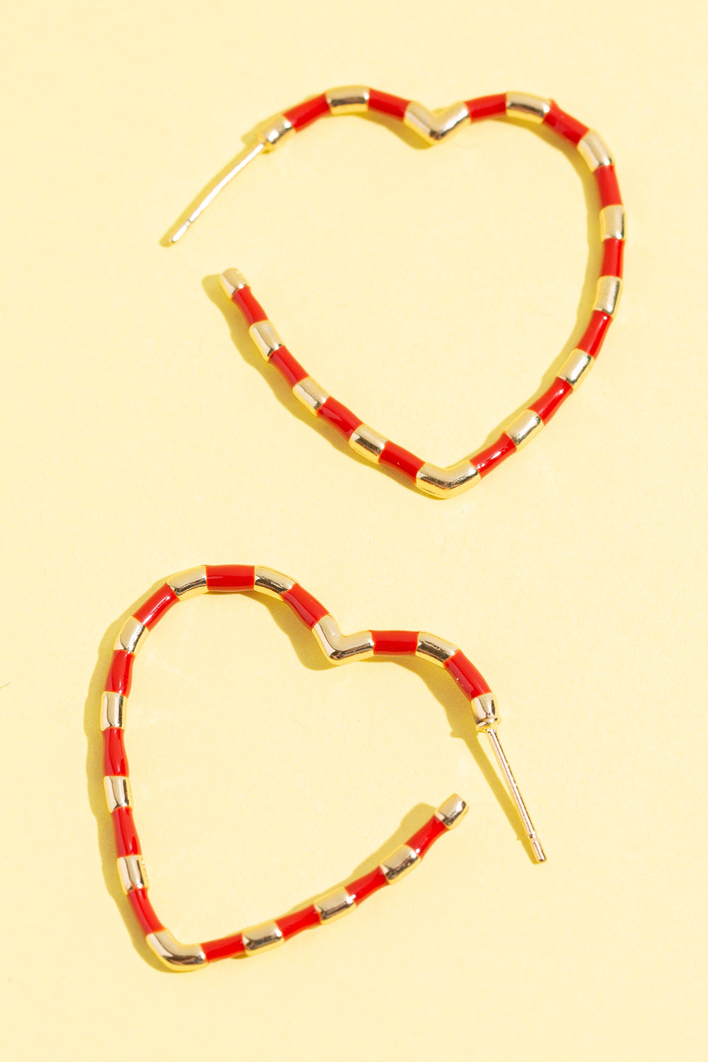 Type 1 Hearts & Stripes Earrings