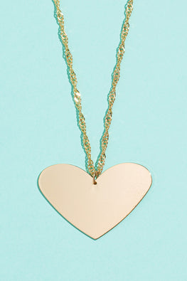Type 1 Hearts Content Necklace