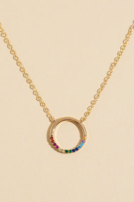 Type 1 Around The Rainbow Necklace