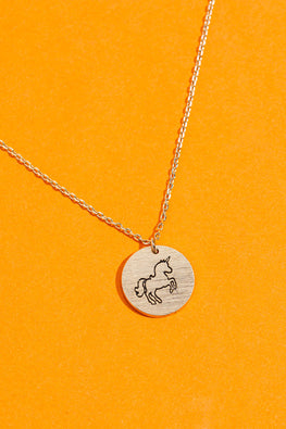 Type 1 Unicorn Love Necklace