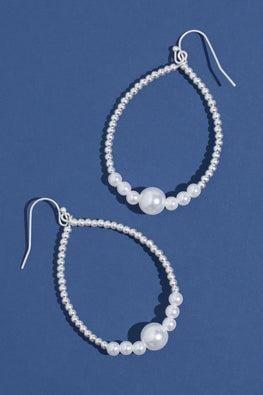 Type 2 Pearl Drops Earrings