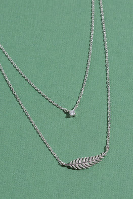 Type 2 Feather Fall Necklace