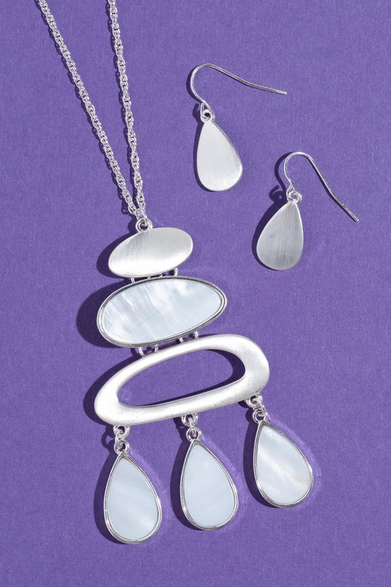 Type 2 Follow the Cairns Necklace/Earring Set