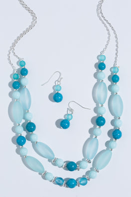 Type 2 Water Whisp Necklace/Earrings Set