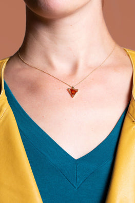 Type 3 Amber Angle Necklace