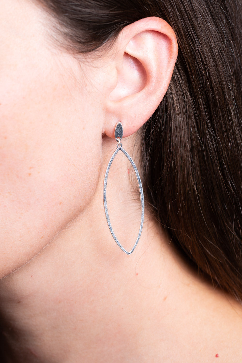 Type 4 Clear Point Earrings