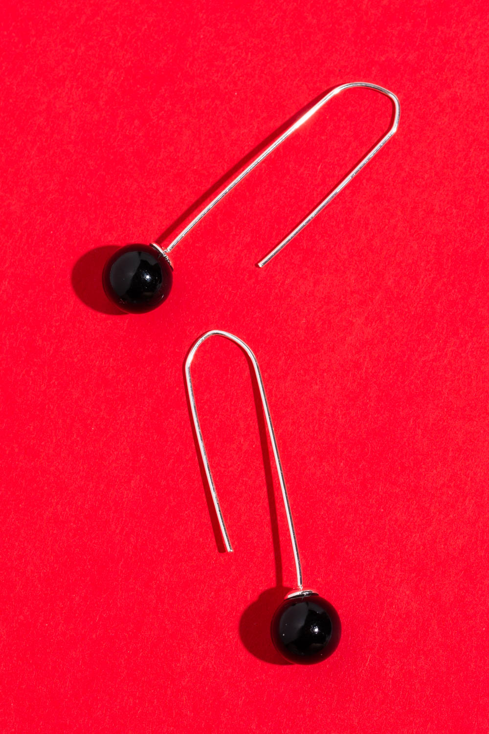 Type 4 Black Pearl Earrings