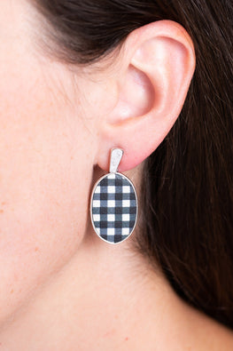 Type 4 Check Please Earrings