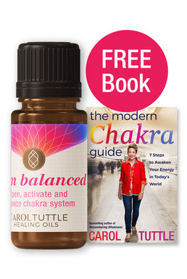 Chakra Oil + Free Book Bundle