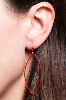 Type 1 Red Wing Earrings