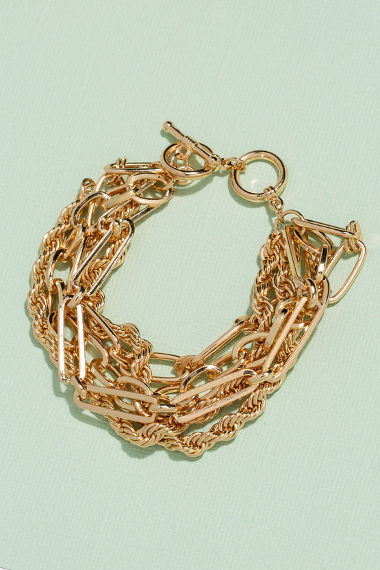 Type 3 Triple Chain Bracelet