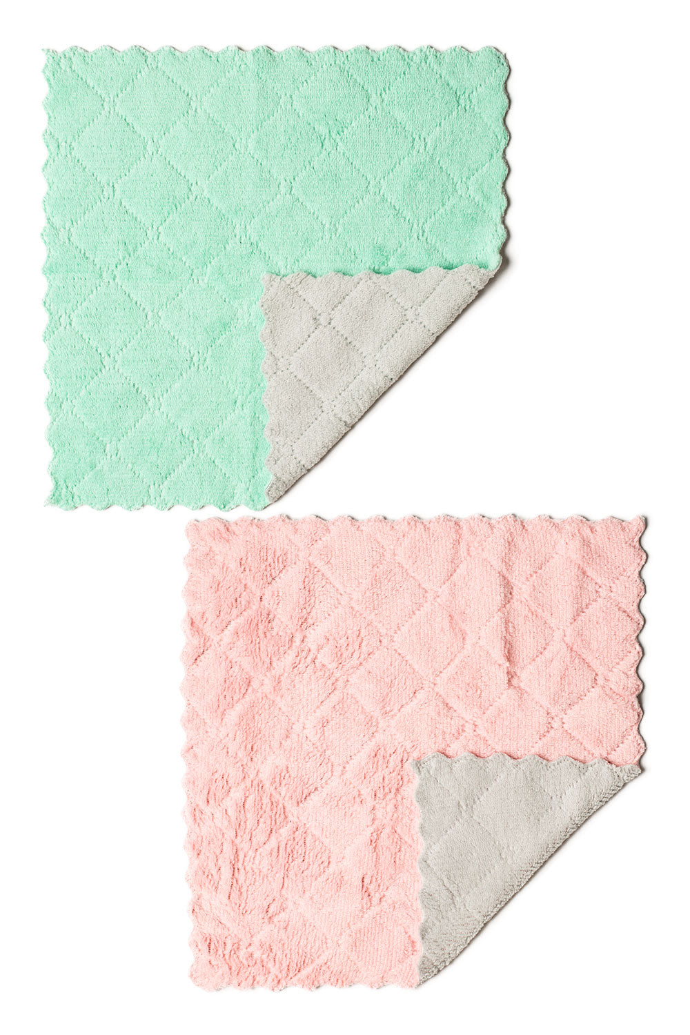 Microfiber Cleansing Cloths - 2 pack