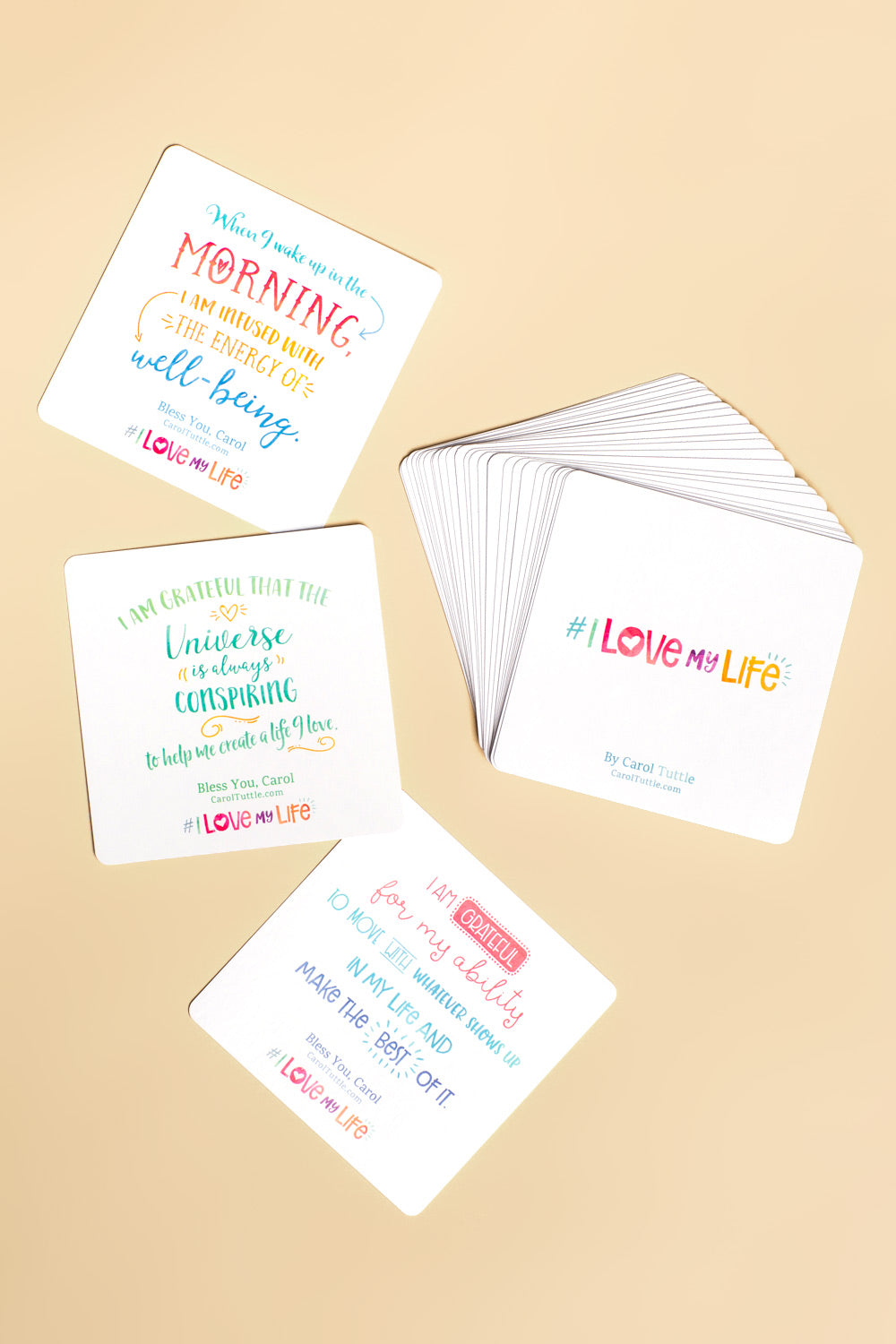 I Love My Life Affirmation Cards