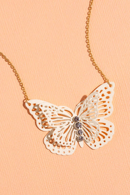 Type 1 Ivory Wings Necklace
