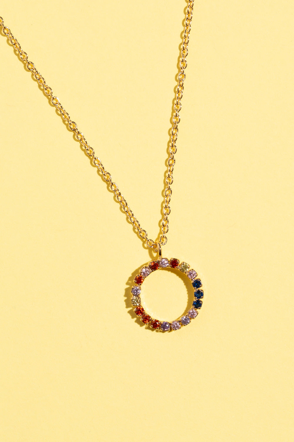 Type 1 Color Wheel Necklace
