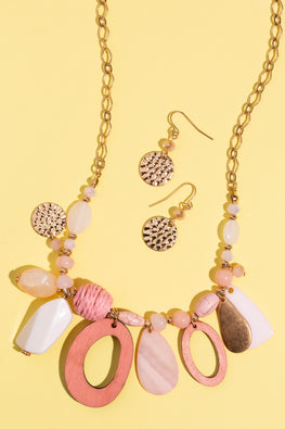 Type 1 Pinky Keen Necklace/Earring Set