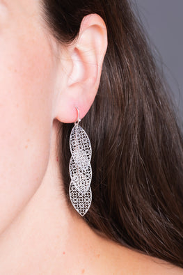 Type 2 Trailing Trellis Earrings
