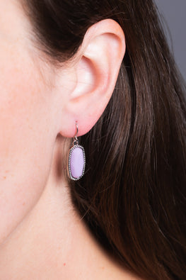 Type 2 In Love with Lavender Earrings