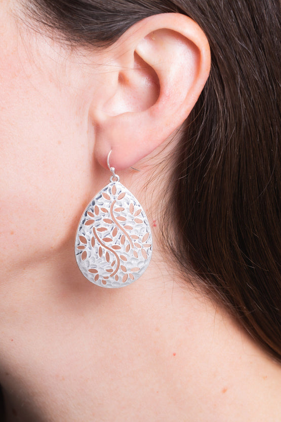 Type 2 Vine & Leaf Earrings