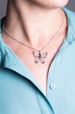 Type 2 Free to Flow Butterfly Necklace