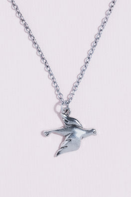 Type 2 Dove Necklace - Silver