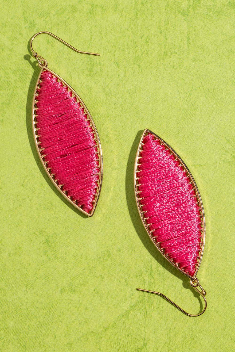 Type 3 Pink Marquise Earrings