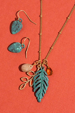 Type 3 Tropical Trail Necklace/Earring Set